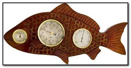 Влияние атмосферного давления на клев рыбы