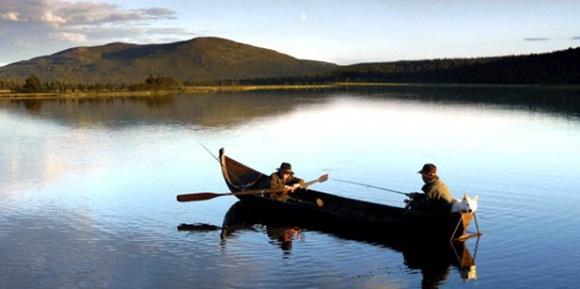 Рыбалка в озерах Финляндии