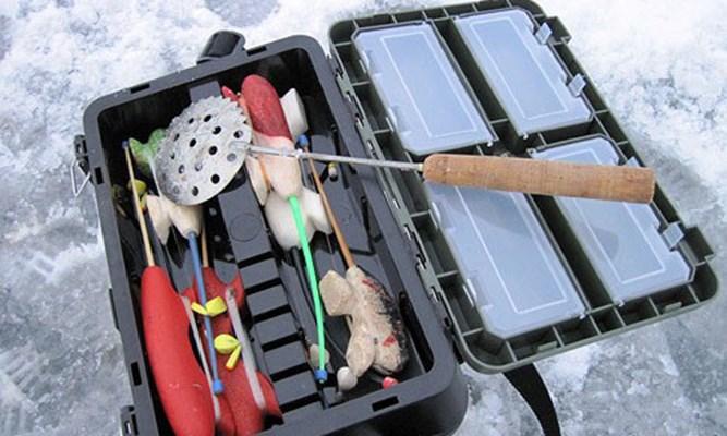 инвентарь зимняя рыбалка фото