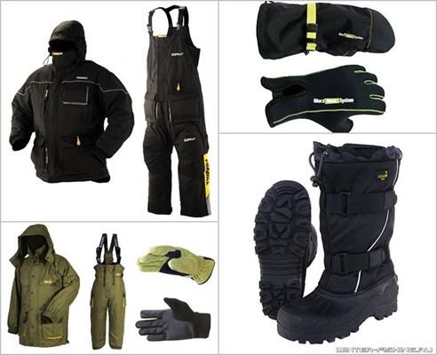 одежда ля зимней рыбалки