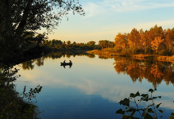 Осенняя рыбалка в Ярославской обл