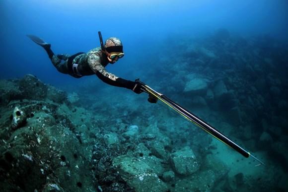 что такое подводная охота фото