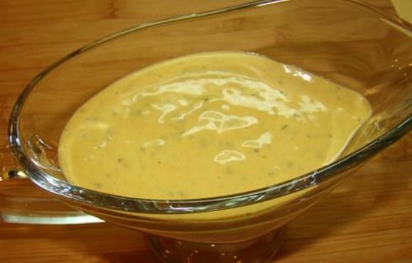 Горчичный соус с укропом
