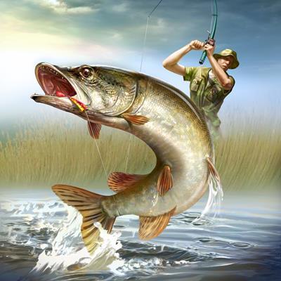 на рыбалке картинки