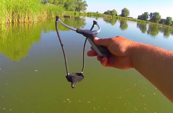 рогатка рыболовная видео