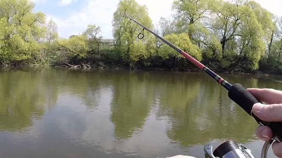 Ловля рыбы спаренным спиннингом