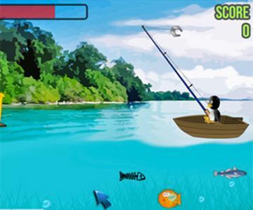Fishing penguin рыбалка игра