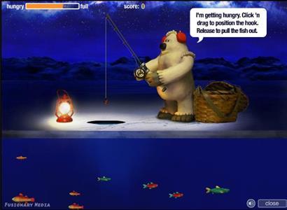 Зимняя рыбалка игра