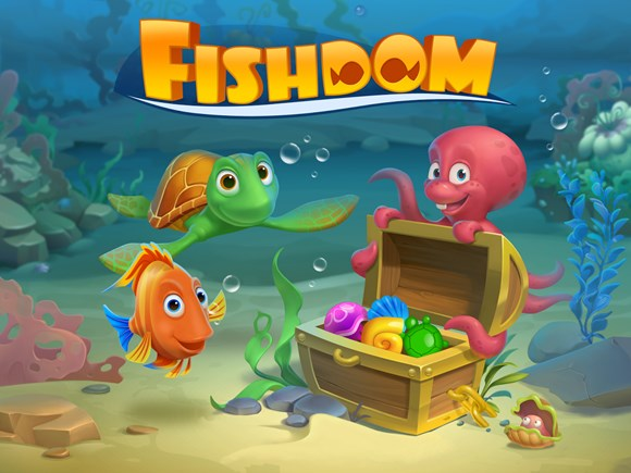 игра Fishdom: Deep Dive