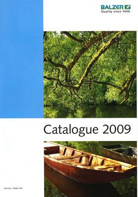 Каталог рыболовных товаров Balzer 2009 скачать