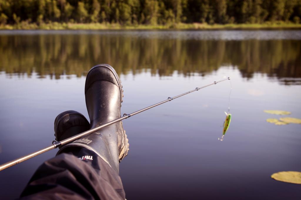 Места для рыбалки в Жуковском